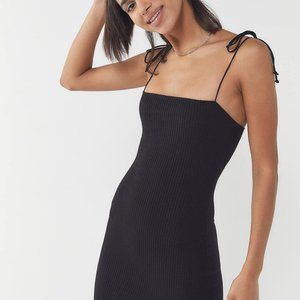 Urban Outfitters Tie Black Dress